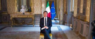 """""""Se pensano di intimorirmi sbagliano persona"""", Renzi escluso dal summit e a caccia di flessibilità attacca la Ue"""
