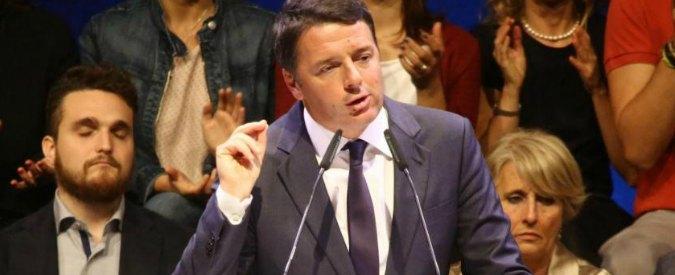 """Pd, Renzi: """"Per vincere il referendum servono i voti della destra"""". Bersani: """"Va dove lo porta il cuore"""""""