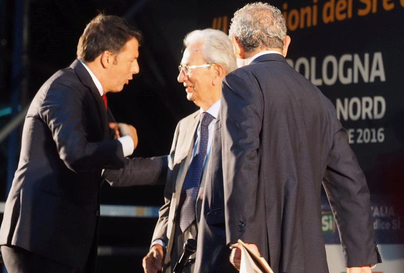 Referendum, il faccia a faccia Renzi Anpi