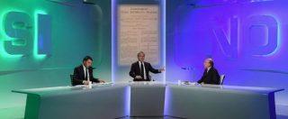 Referendum costituzionale, Sì o No confronto Renzi-Zagrebelsky. Scontro su gufi, parrucconi e democrazia