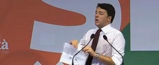 """Roma, Renzi attacca la Raggi: """"La svolta? dare i rifiuti a quelli di Mafia Capitale"""""""