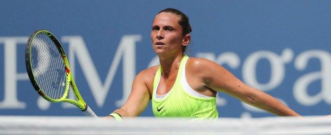 US Open, Roberta Vinci battuta dalla Kerber e dal dolore a un tendine