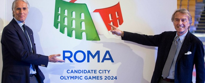 Olimpiadi Roma 2024, il Coni offre la testa di Montezemolo e la revisione del progetto pur di convincere la Raggi