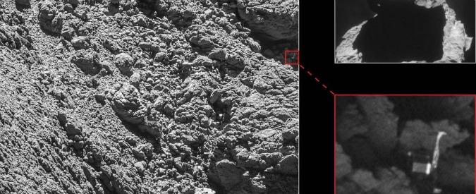 Rosetta, la sonda madre ritrova Philae il lander scomparso. La sorpresa degli scienziati