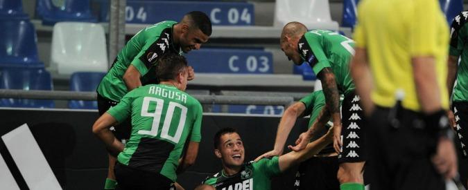 Europa League, continua la favola Sassuolo: battuto 3-0 l'Athletic Bilbao