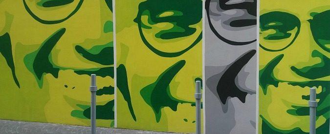 Giancarlo Siani, un murales per chiudere una ferita