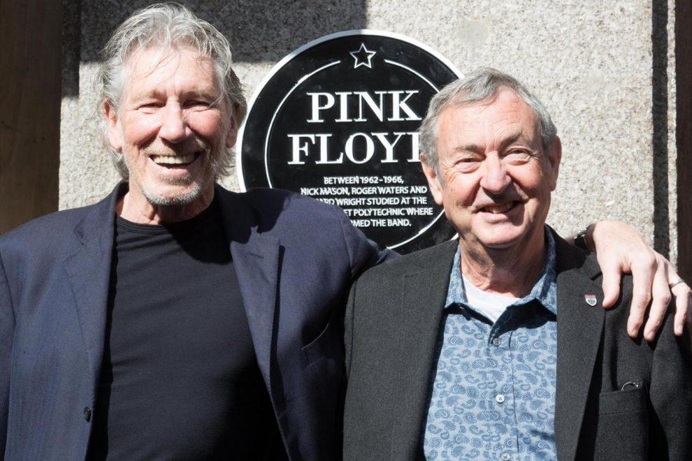 Pink Floyd Regent Street Heritage Plaque unveiling
