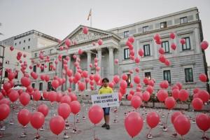 Spagna, protesta dei migranti siriani a Madrid