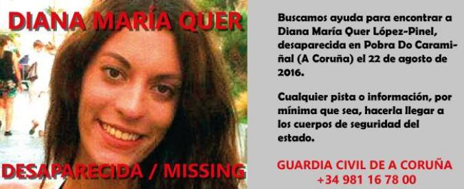 Galizia, 18enne sparita nel nulla dopo una festa. Da venti giorni il caso Diana Quer tiene la Spagna con il fiato sospeso