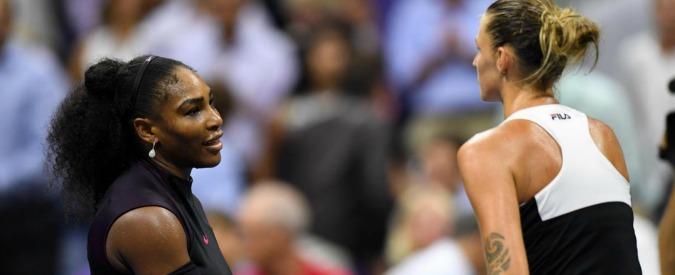 US Open, altra semifinale maledetta per Serena Williams: cede a Pliskova e perde la testa del ranking. Oggi gli uomini – VIDEO