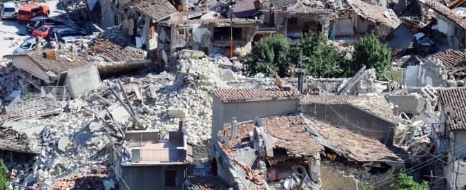 Terremoti, la prevenzione dei danni è la vera grande opera su cui investire