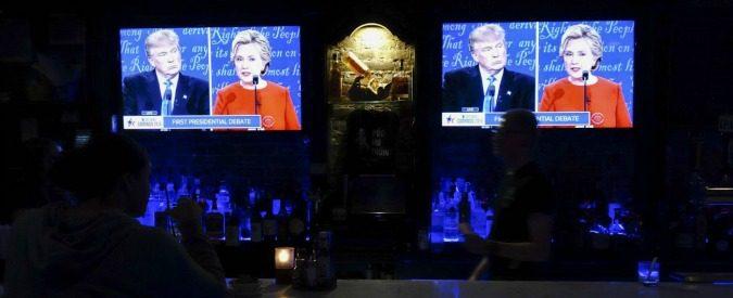 Elezioni Usa 2016, al primo match vince Hillary la secchiona. Trump farfuglia ma non punge
