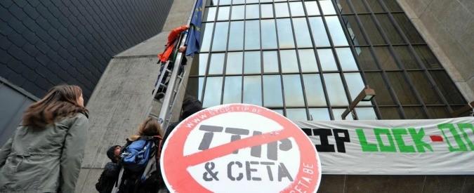 #StopTTIP e #StopCETA, da domani mailbombing e tweet storm su Renzi