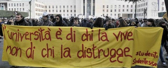 Come si uccide l'università italiana