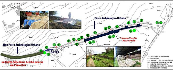 Vibo Valentia, patrimonio all'italiana: per realizzare il Parco archeologico si interrano le mura greche