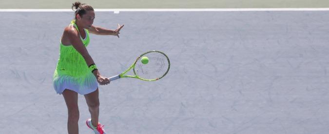 Us Open 2016, Roberta Vinci agli ottavi: forse è di nuovo il suo torneo. Djokovic fortunato, deludente Cilic