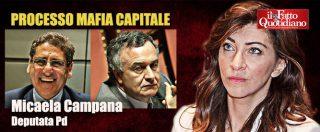 """Mafia Capitale, i trentanove """"non ricordo"""" della deputata Pd Micaela Campana – Ascolta l'audio"""