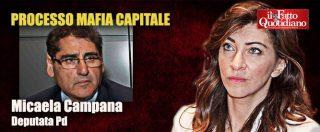 """Mafia Capitale, Micaela Campana (Pd): """"Perché chiamavo Buzzi grande capo?"""". Ascolta le risposte che indispettiscono i giudici"""
