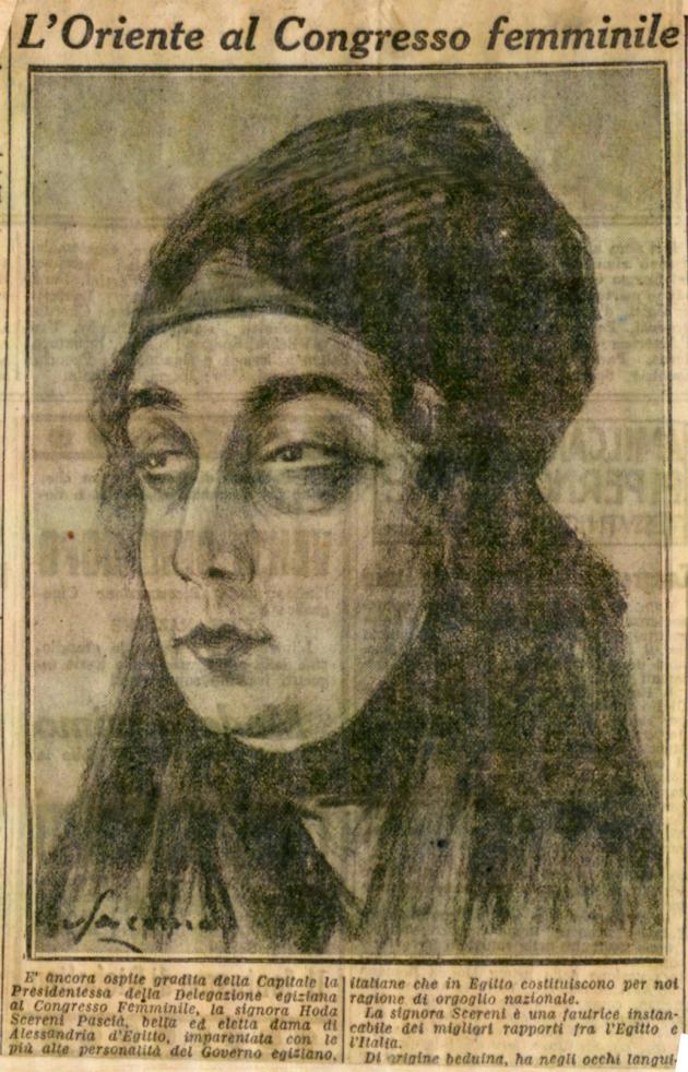 Per la donna nella vita politica. Gentile femminilità mussulmana, in: «Il Piccolo», 17-18 maggio 1923, Fondo Famiglia Majno, Archivi dell'Unione femminile nazionale