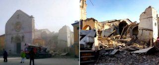 Terremoto Centro Italia, nuova scossa di magnitudo 6.5 con epicentro vicino a Norcia. Crollata la Basilica di San Benedetto