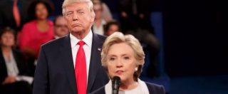 "Usa 2016, dibattito Clinton-Trump. The Atlantic: ""Minaccia di far arrestare Hillary è incostituzionale"""
