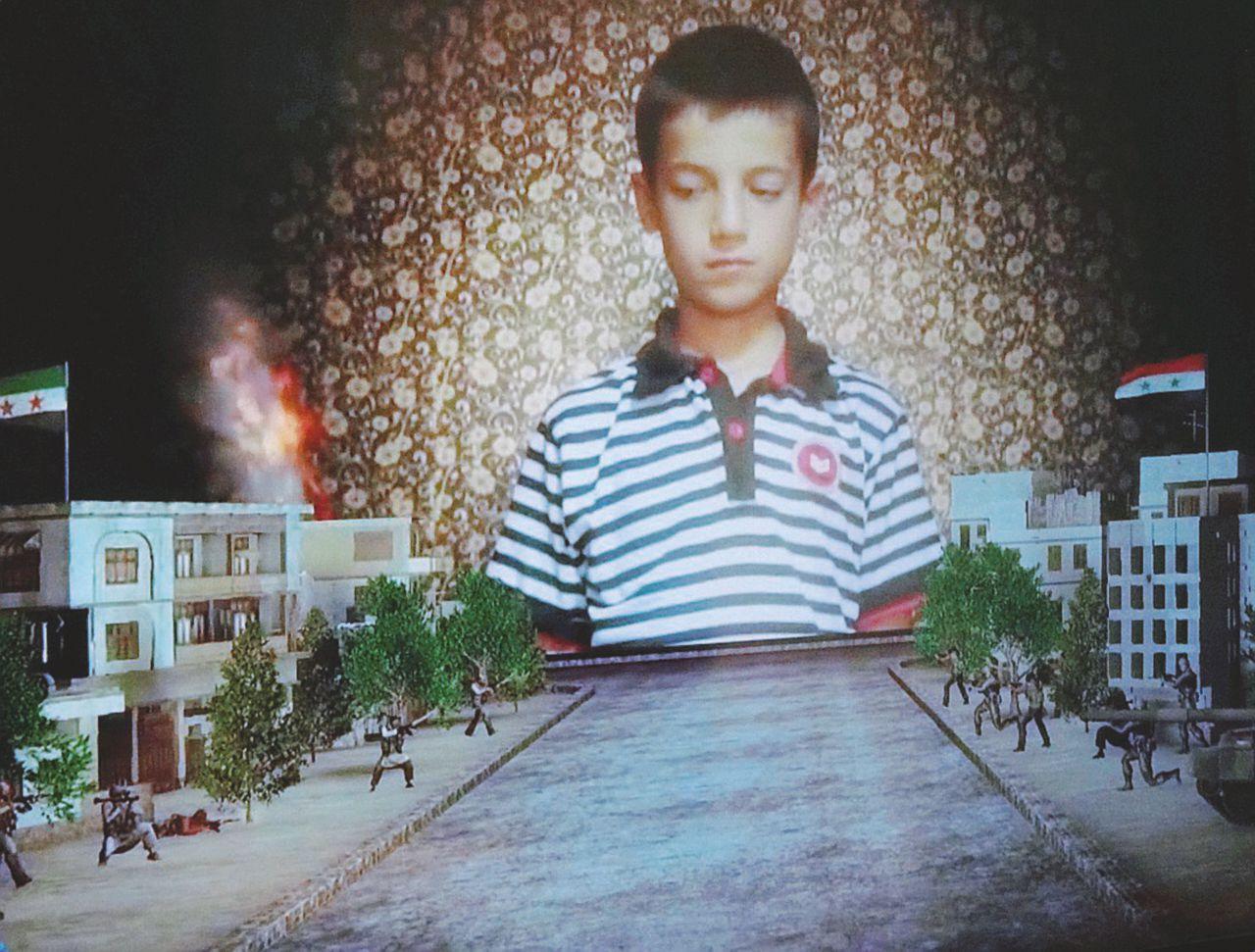 """Hassan, il writer torturato: """"Sfottevo Assad a casa sua"""""""