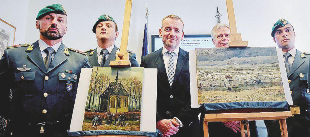 Van Gogh rubati, erano a Gomorra city