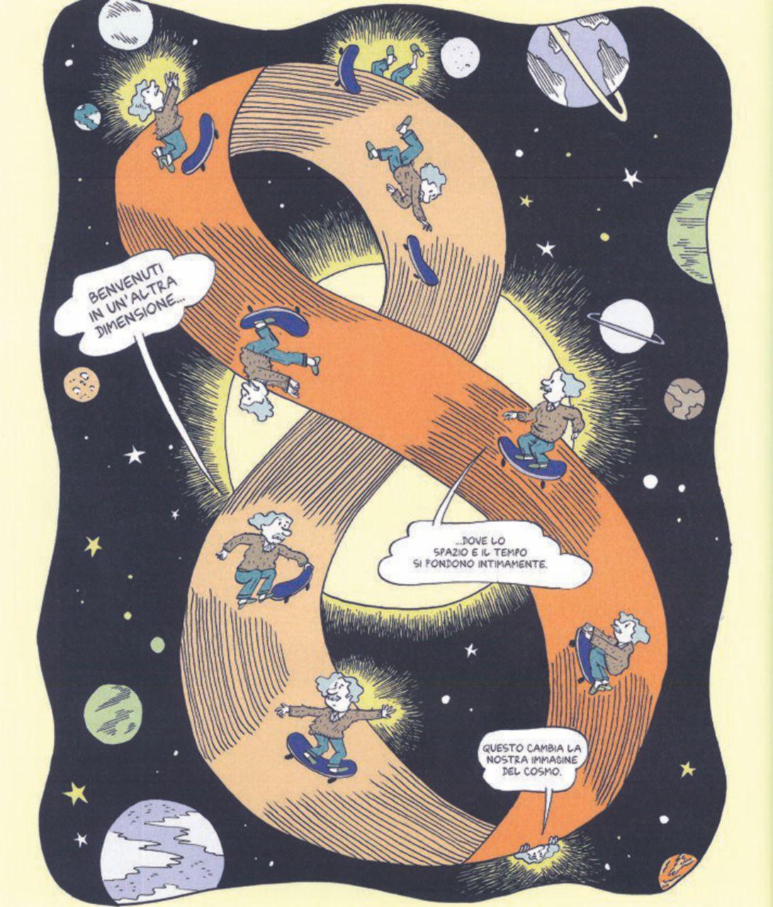 La teoria della relatività non si può spiegare a fumetti, ma almeno i sogni di Einstein sì