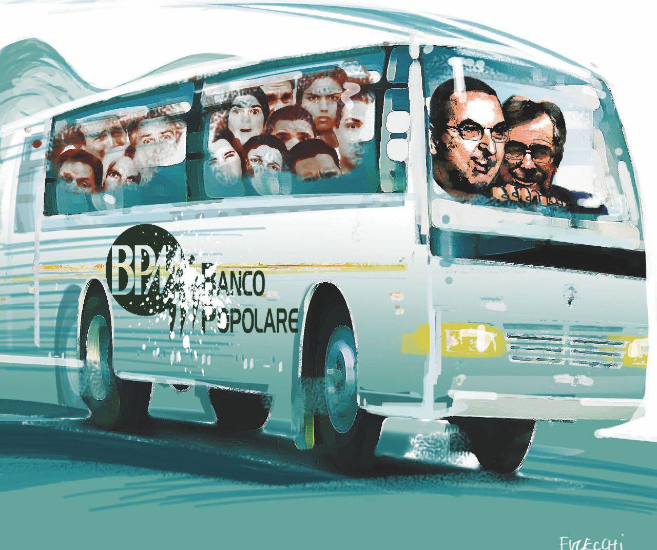 Bpm-Banco di Verona viaggi pagati ai soci per dire sì alla fusione