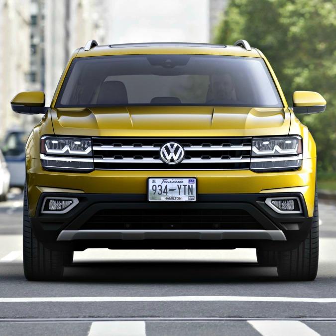 Volkswagen Atlas, il gigante tedesco costruito negli States – FOTO