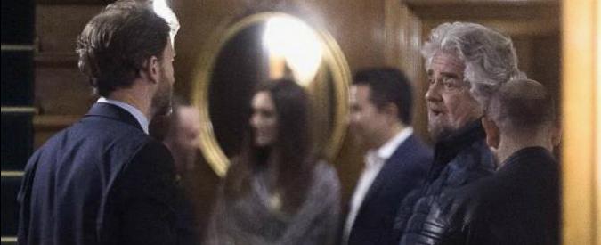 """M5s, Grillo e Casaleggio jr a colloquio con deputati. E sul blog: """"Buon compleanno al Movimento. Oggi più uniti"""""""