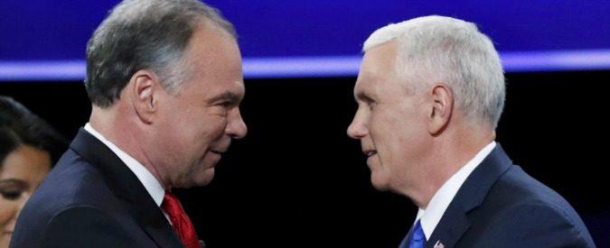 Usa 2016, duello tv tra i candidati vicepresidenti: teniamoci stretti i titolari
