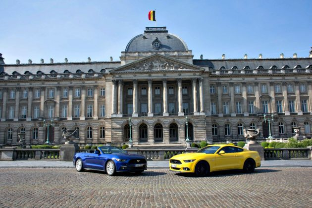 FORD MUSTANG BRUXELLES
