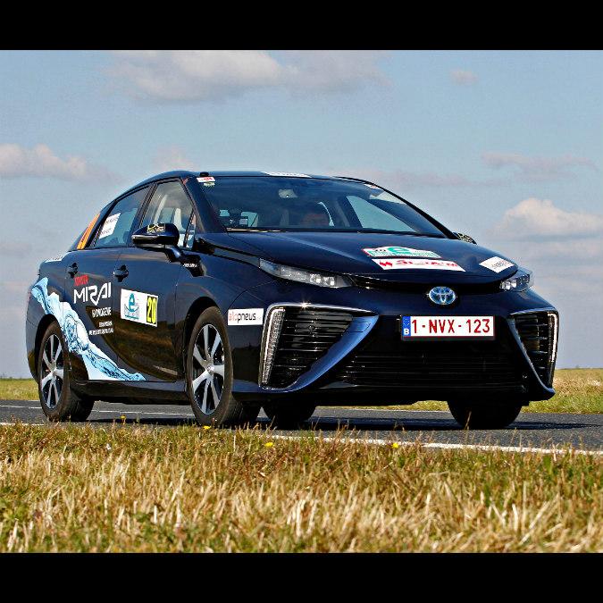 Toyota Mirai, l'auto a idrogeno che vince i rally – FOTO