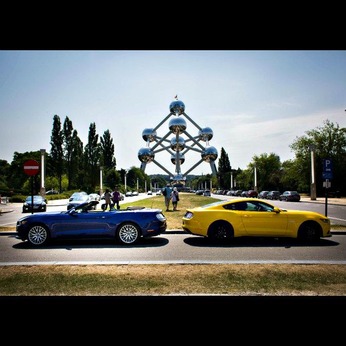 Ford Mustang e la passione dei belgi per le auto sportive – FOTO