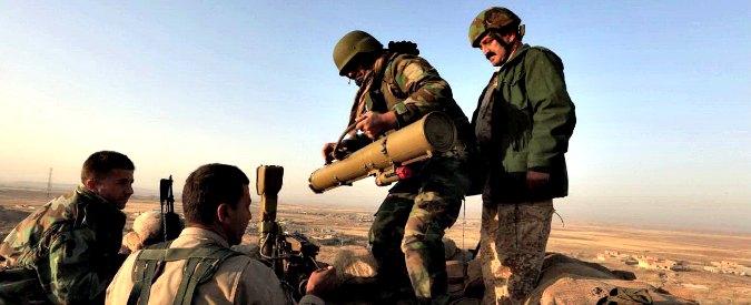 """Mosul, nuova offensiva e raid aerei Usa: """"I Peshmerga avanzano su tre fronti"""""""