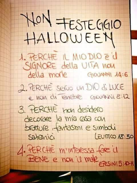 Perche Non Festeggiare Halloween.Halloween Dalla Lombardia Alla Sicilia Veglie Di Preghiera E