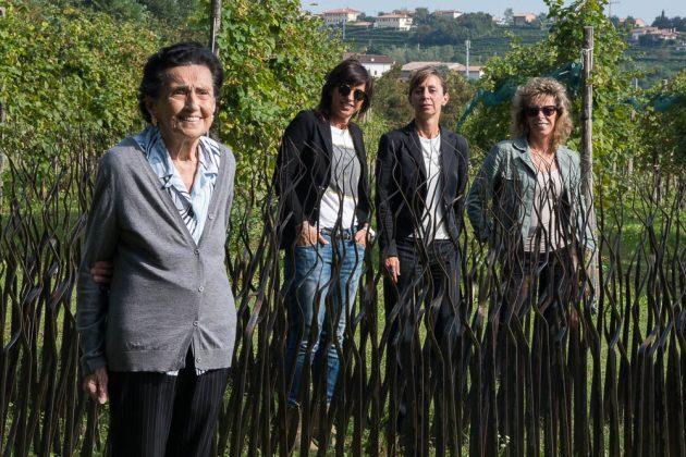 Ottavia, Elvira, Giulian e Maria Elena Bortolomiol