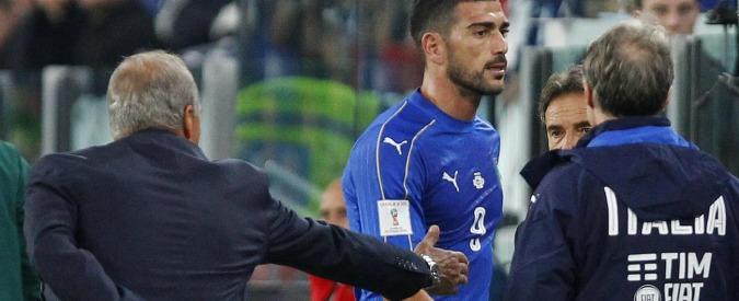 """Graziano Pellè fuori dalla Nazionale per non aver stretto la mano a Ventura. Il tecnico: """"Rispetto per la maglia azzurra"""""""