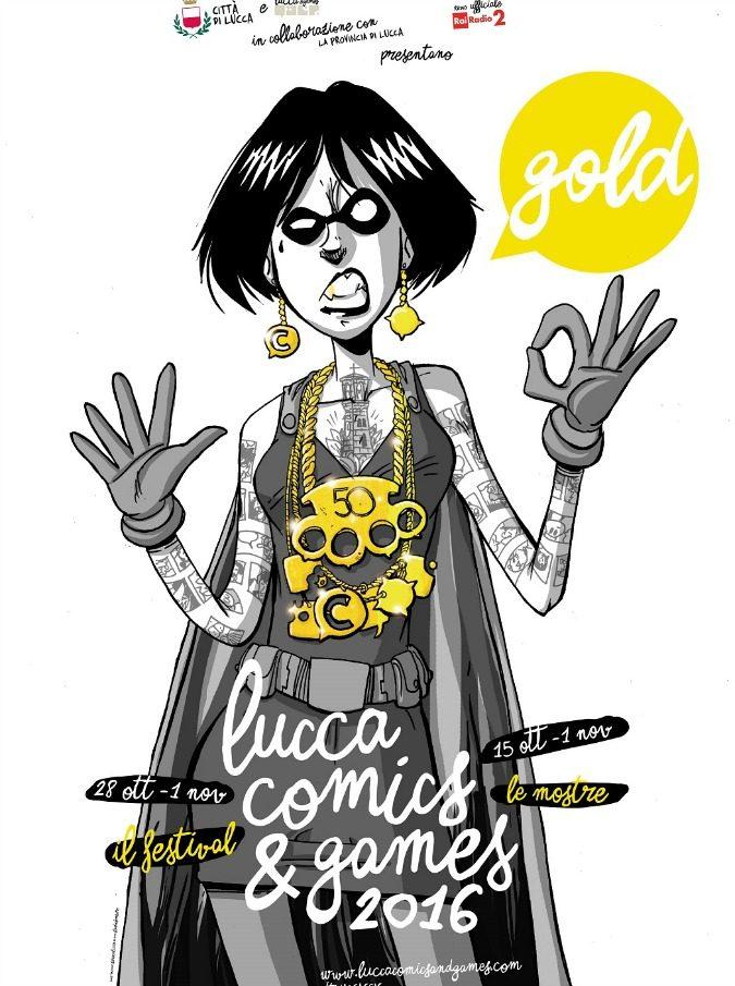 """Lucca Comics & Games, 10 cose da non perdere per l'anno """"Gold"""": da Zerocalcare a The Walking Dead e Final Fantasy"""