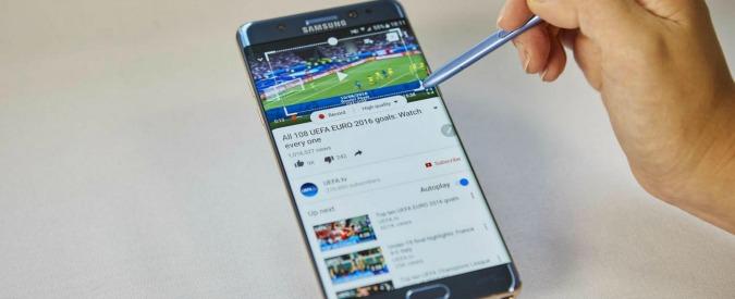 Galaxy Note 7, Samsung sospende la produzione dopo i casi di combustione