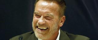 """Usa 2016, Schwarzenegger: """"Non voterò Trump, non accetto attacchi alle donne"""""""