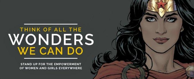 Wonder Woman Ambasciatrice Dellonu Per Le Donne Ma 600 Funzionari
