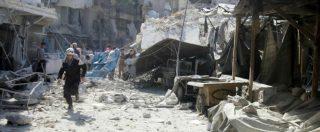 Aleppo, strage in un mercato: 15 civili uccisi in un raid sulla zona controllata dai ribelli