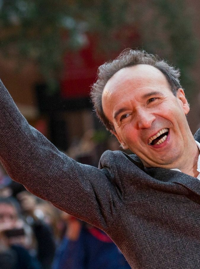 """Roberto Benigni alla Festa del cinema di Roma: """"Voglio fare un film di un'allegria sfrenata. Con Tom Hanks"""""""