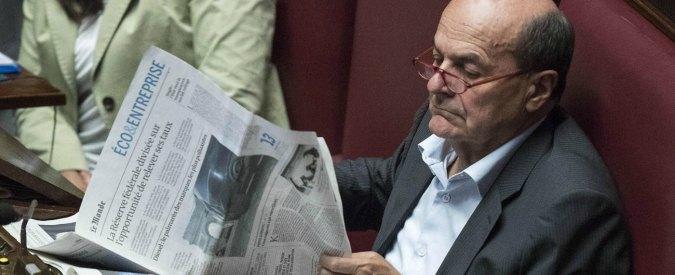 Referendum, Bersani: 'Pd casa mia. Solo se Pinotti schiera l'esercito mi si potrà far fuori'. Renzi: 'Parliamo di cose serie'