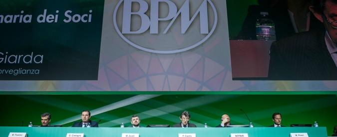 Nozze Bpm-Banco Popolare, dietro alle minacce di Apocalisse una logica politica e non industriale