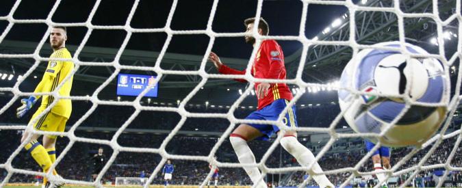 Italia – Spagna: 1 a 1. Brutta prova degli Azzurri, ma punto d'oro per la corsa ai Mondiali in Russia
