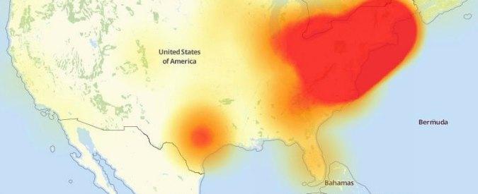 Usa, tre cyberattacchi sulla East Coast: colpiti anche Twitter e Spotify