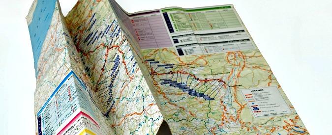 Mappe stradali, quanta nostalgia per quelle di carta. Ecco la loro seconda vita